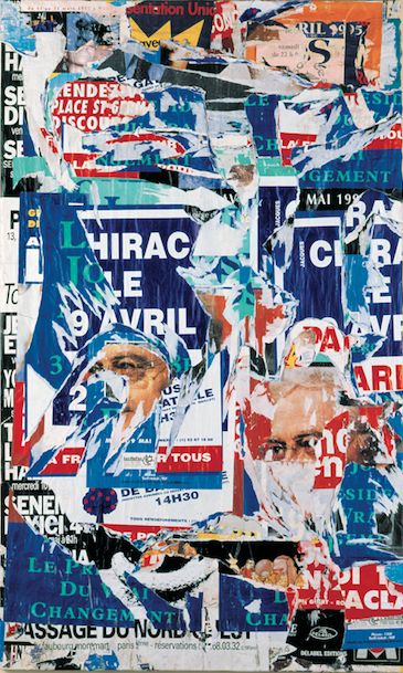 Jacques Villeglé — Galerie Georges-Philippe & Nathalie Vallois
