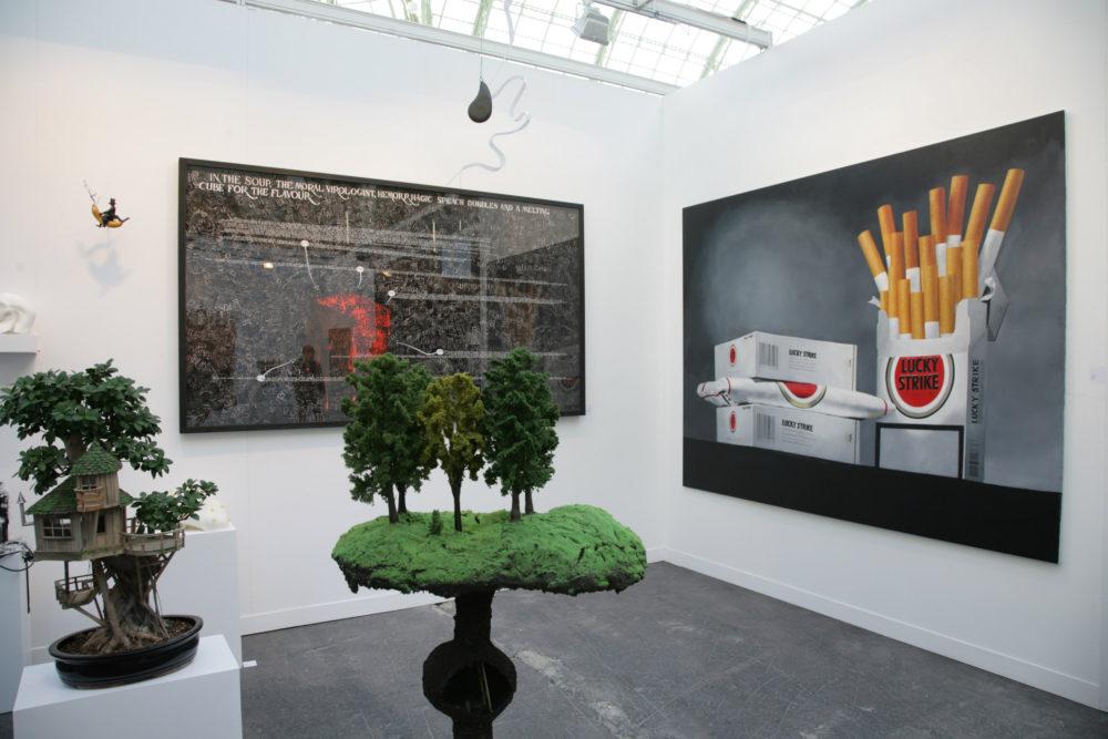 FIAC 2008 — Galerie Georges-Philippe & Nathalie Vallois