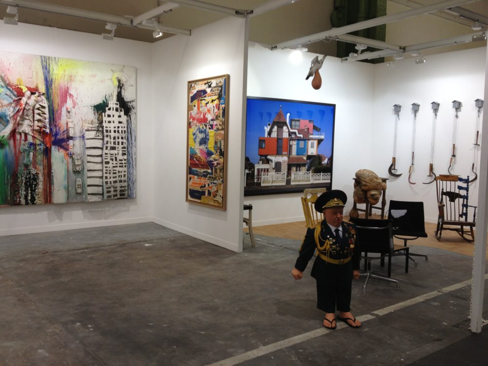FIAC 2012 — Galerie Georges-Philippe & Nathalie Vallois