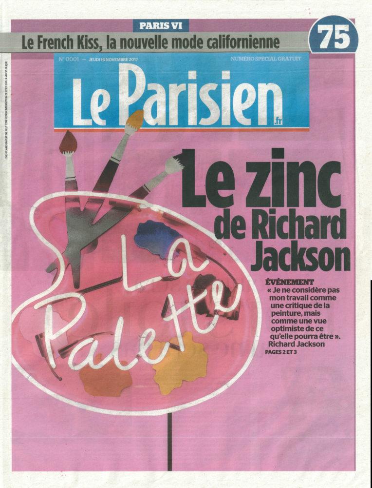 Le Zinc de Richard Jackson - Galerie Georges-Philippe & Nathalie Vallois