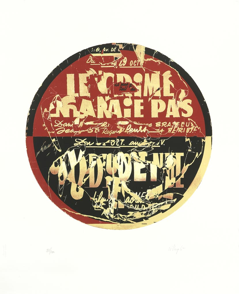 Le crime ne paie pas - Galerie Georges-Philippe & Nathalie Vallois