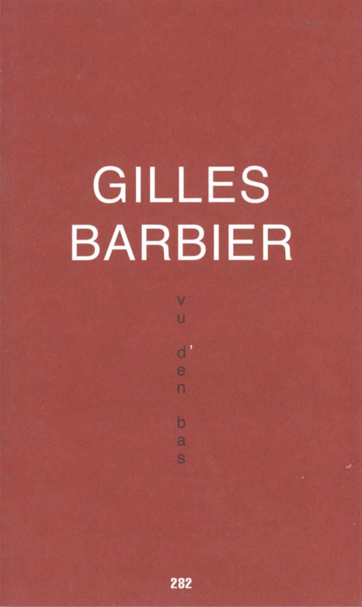 Vu d'en bas - Galerie Georges-Philippe & Nathalie Vallois