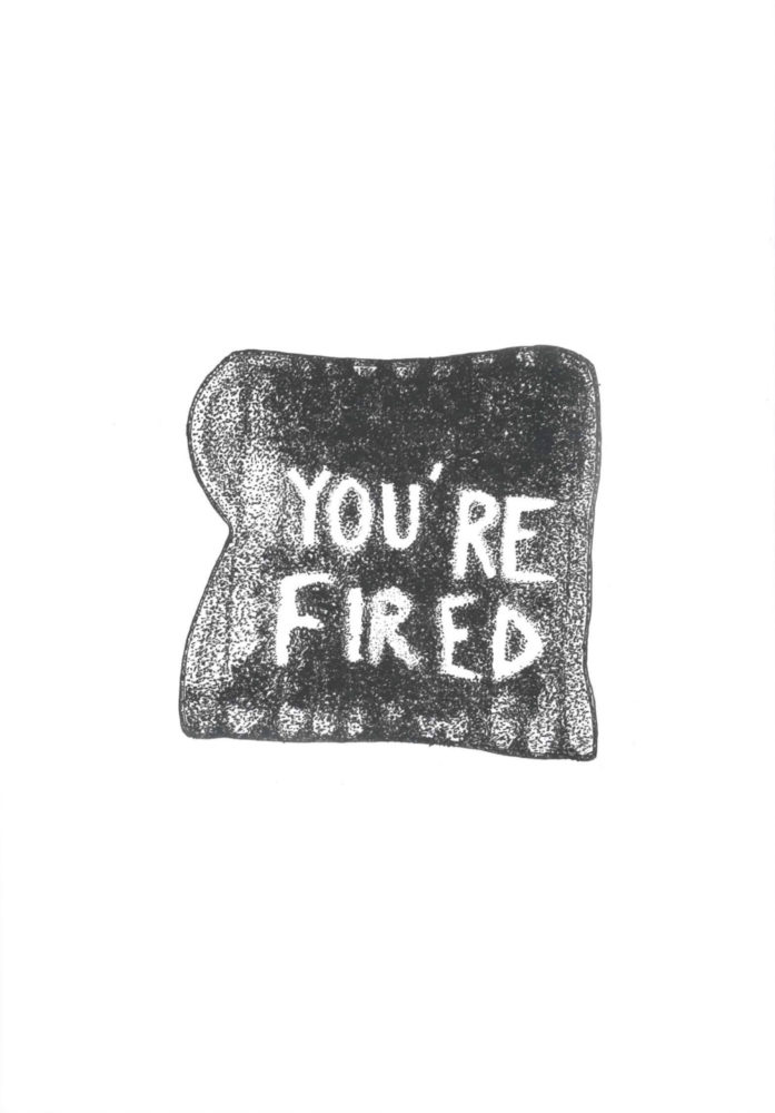 You're fired – tirage de tête - Galerie Georges-Philippe & Nathalie Vallois