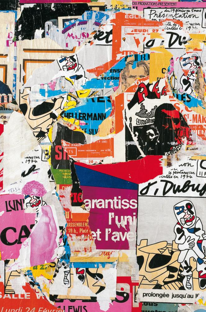 """"""" La Peinture dans la non peinture """" Affiches lacérées 1964-1993 - Galerie Georges-Philippe & Nathalie Vallois"""