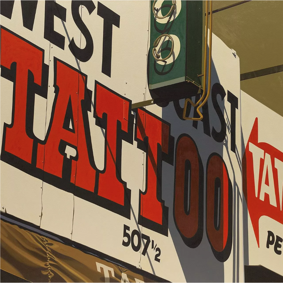 Robert Cottingham — Galerie Georges-Philippe & Nathalie Vallois